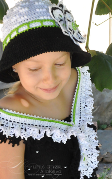 Faerie Dreams. Zippered Scarf Crochet Sz Kids to Adult Pattern/eBook/PDF