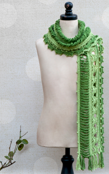 Dryad Scarf Crochet Pattern for Kids and Adult Pattern in PDF format only!!