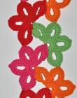 Floral Fiesta Scarf Crochet PDF eBook Pattern
