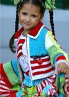 Holiday Girl Jacket Sizes 2-12 Knit/Crochet PDF eBook Pattern