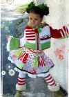 Christmas Jacket Knit/Crochet Sizes 2-12 PDF eBook Pattern