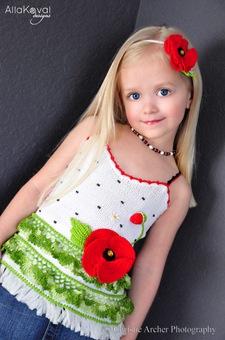 Вязание крючком для начинающих девочек.