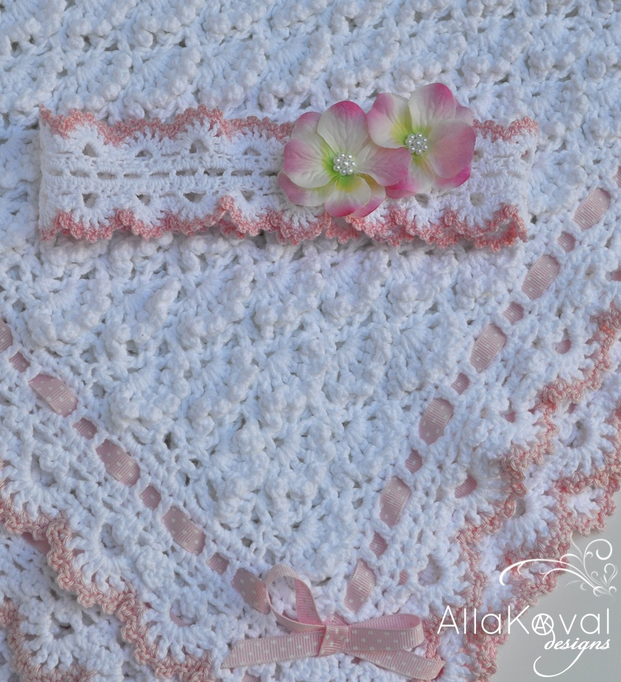 Fluffy Clouds. Crochet Baby Blanket Pattern for Babies ...