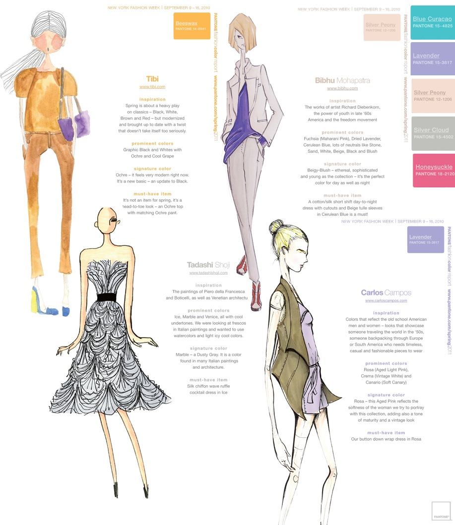 Pantone Fashion Color Report for Spring 2010 | Fashion Trendsetter