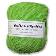 Crystal Palace Cotton Chenille Ball