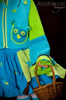 Whimsical Forest Owl Jacket4