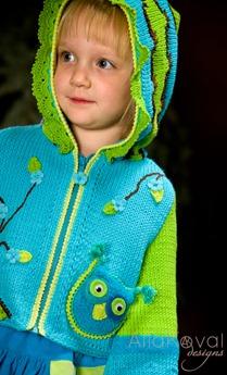 Whimsical Forest Owl Jacket8