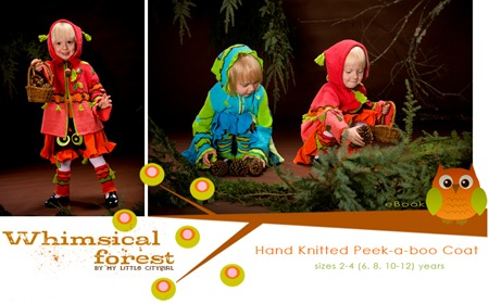 Whimsical Forest Peek-A-Boo Coat Logo
