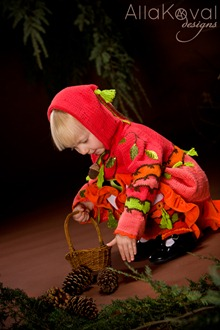 Whimsical Forest Peek-a-boo Coat2