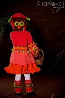 Whimsical Forest Peek-a-boo Coat3