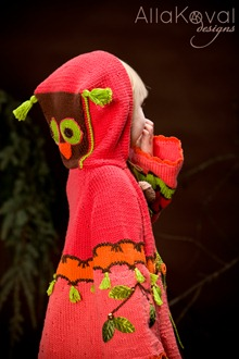Whimsical Forest Peek-a-boo Coat4