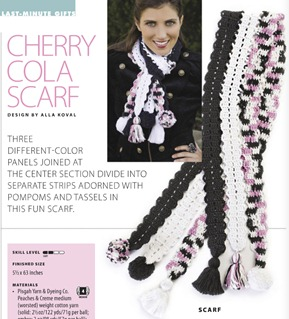 Cherry Cola Scarf