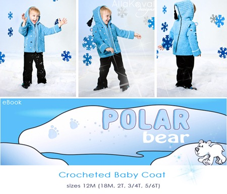 Polar Bear Crochet Logo