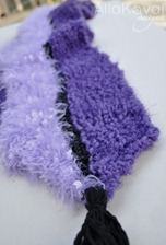 Purple Mood Scarf 2