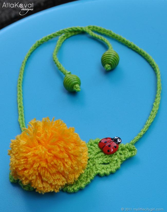 Garden Party Crocheted Hat Flowers Pins Pattern Update My