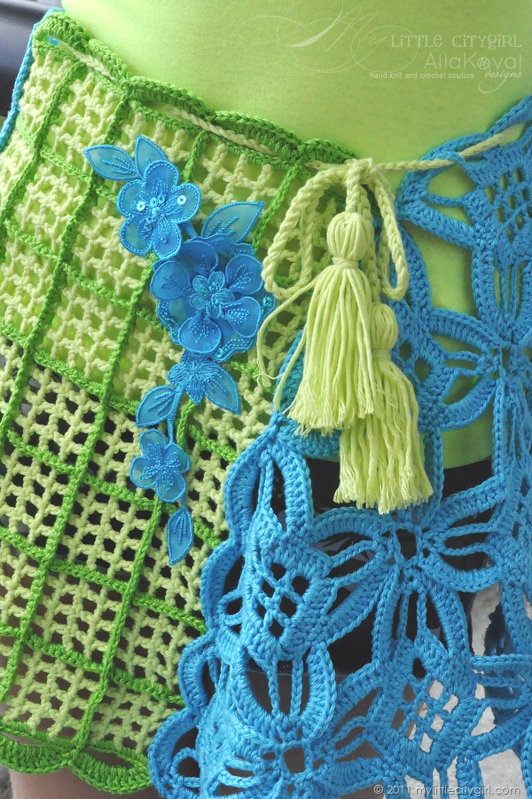 August 2011 hand knit and crochet couture creations patterns inspiration - My little jardin ...