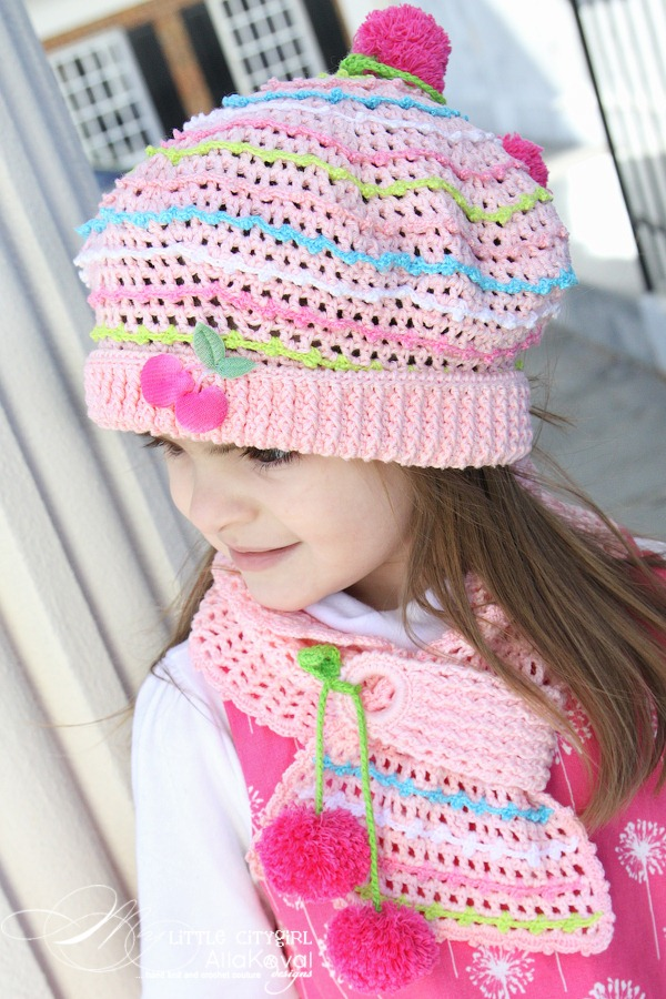Crochet scarf pattern girl dancox for crocheted hat scarf pattern for kids and adult dt1010fo