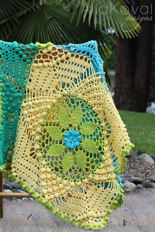 Tropicana Blanket Web