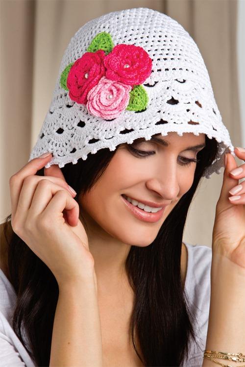 Sunlit Rose Hat