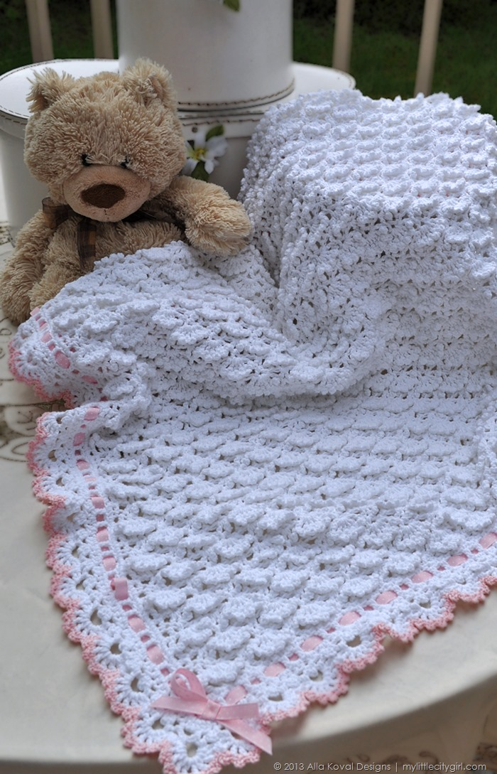 Fluffy Clouds Crochet Blanket Pattern Second Edition My Little
