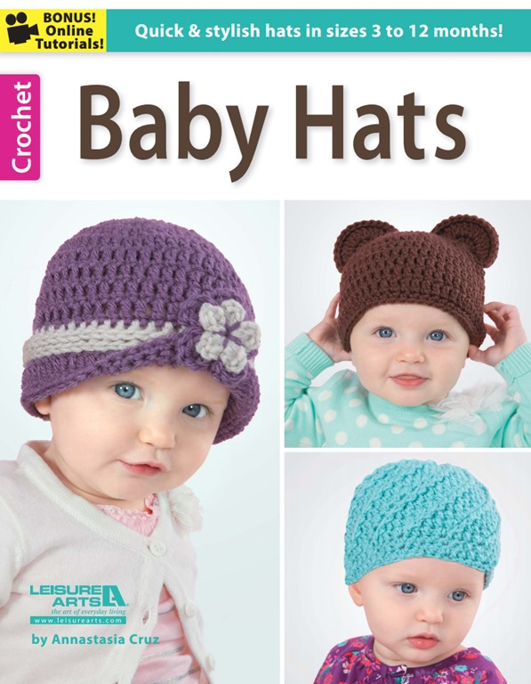 Book Cover Crochet Hat ~ Book review baby hats by annastasia cruz giveaway my