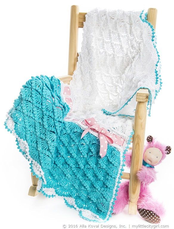 Candy Clouds | Baby Blanket/Throw Crochet Pattern (EAP ...