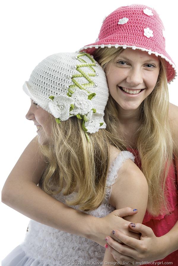 Millefiori-Hat031W