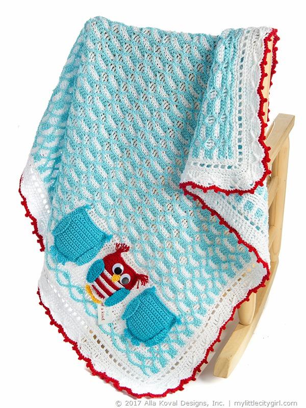 Ooak Baby Boy Blanket Crochet Pattern My Little Citygirl