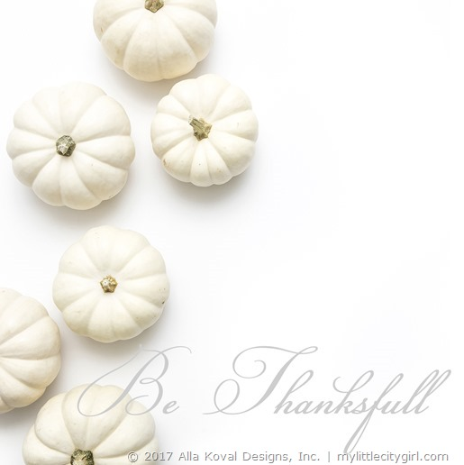 Be ThanksfullW